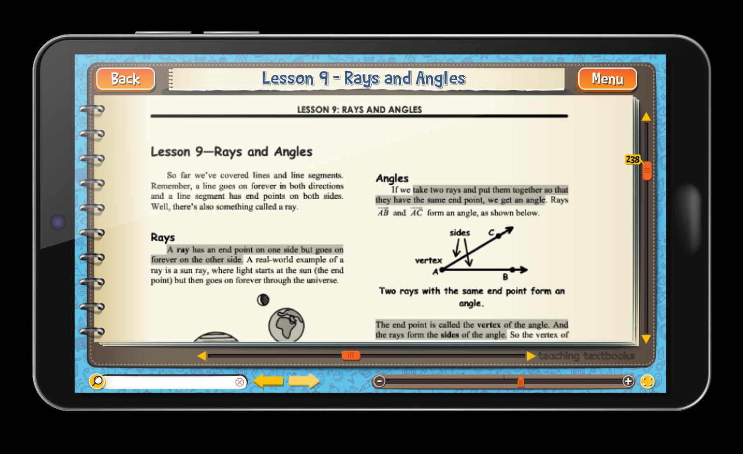 Geometry 4.0 eBook screen